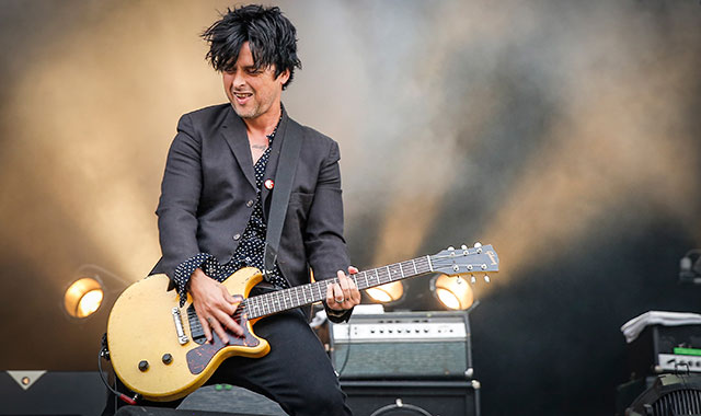 Billie Joe Armstrong performs with The Replacements on Day 3 of the Osheaga Music and Art Festival on August 3, 2014 in Montreal, Canada.