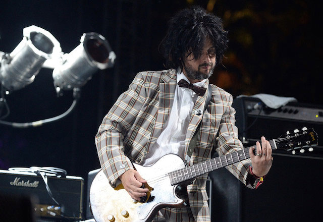Billie Joe Armstrong performs with The Replacements onstage during day 1 of the 2014 Coachella Valley Music & Arts Festival at the Empire Polo Club on April 18, 2014.