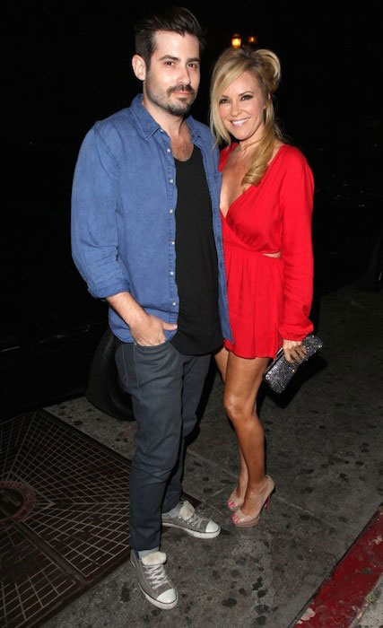Bridget Marquardt and Nicholas Carpenter on a night out at the Lure Nightclub in Hollywood, California on May 21, 2014.