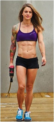 Christmas Abbott, Crossfit athlete & coach.