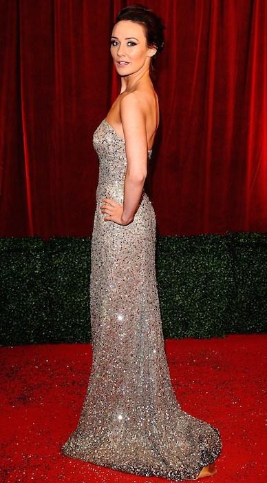 Claire Cooper British Soap Awards 2012.