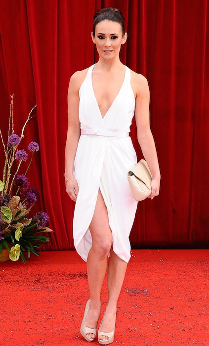 Claire Cooper at The British Soap Awards 2011.