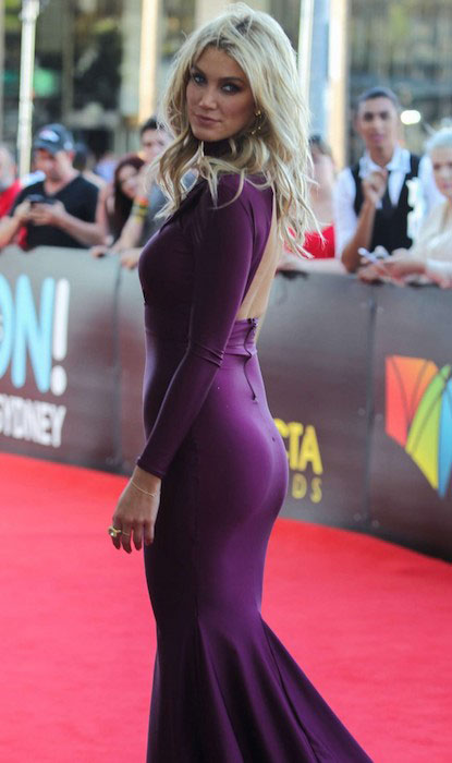 Delta Goodrem at AACTA 2014 Awards in Sydney.