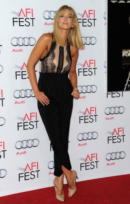 Delta Goodrem attends the screening of 'Out of the Furnace' during AFI FEST 2013 presented by Audi.