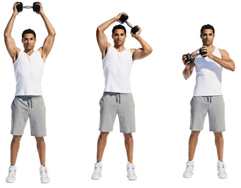 Dumbbell Halo Exercise