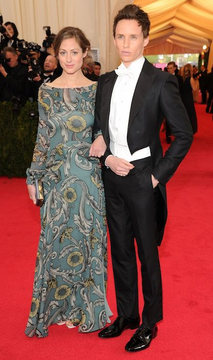 Eddie Redmayne and Hannah Bagshawe at the MET Gala 2014.