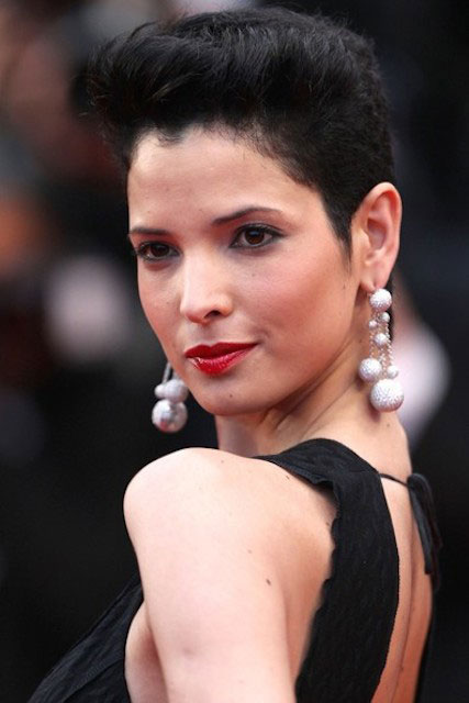 Hanaa Ben Abdesslem at 'Cosmopolis' red carpet premiere at 65th Cannes Film Festival 2012.