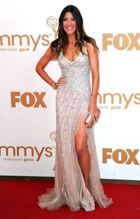 Jennifer Carpenter at Emmy Awards 2011.
