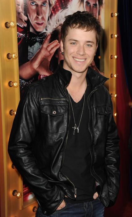 "Jeremy Sumpter attends the premiere of Warner Bros. Pictures' ""The Incredible Burt Wonderstone'""at TCL Chinese Theatre on March 11, 2013."
