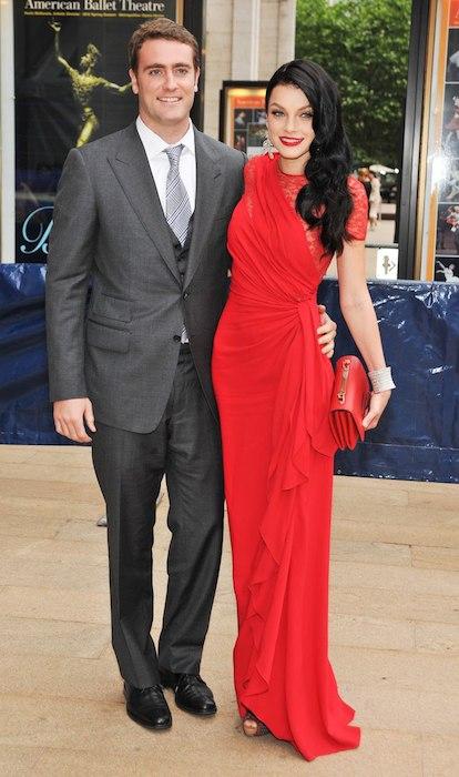 Jessica Stam and Charlie Wiggins.