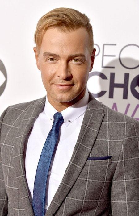 Joey Lawrence at The People's Choice Awards 2015.