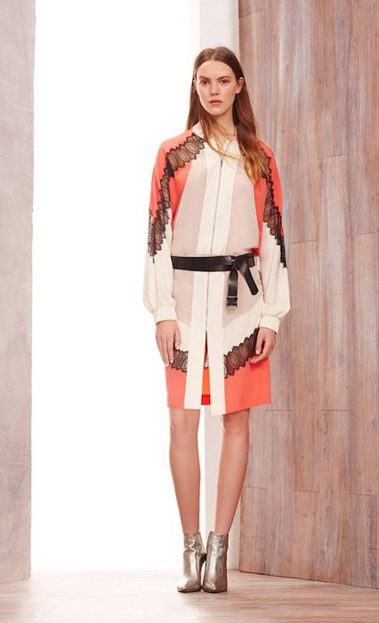 Josefien Rodermans for BCBG Max Azria Pre-Fall 2015 Fashion Show.