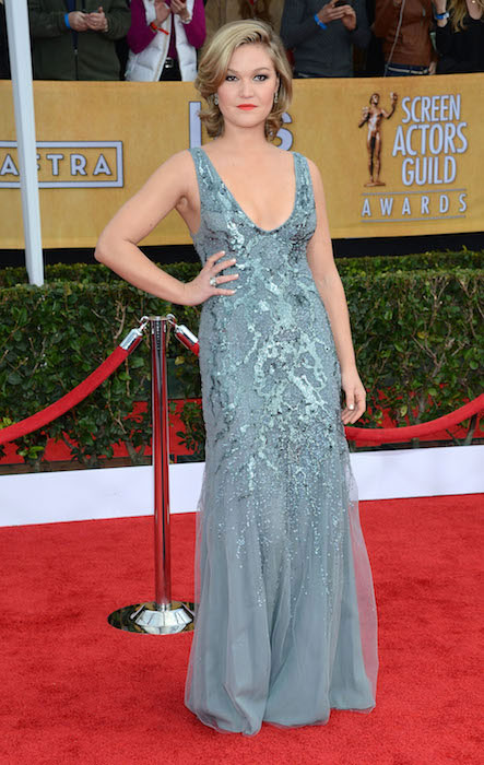 Julia Stiles at Screen Actors Guild Awards 2013.