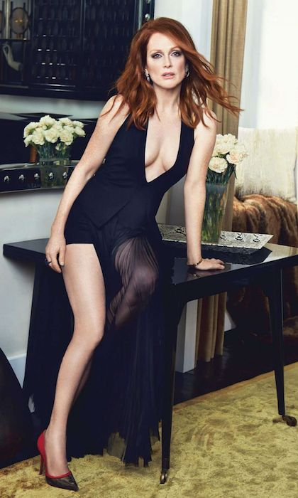 Julianne Moore at More Magazine November 2014 Issue.