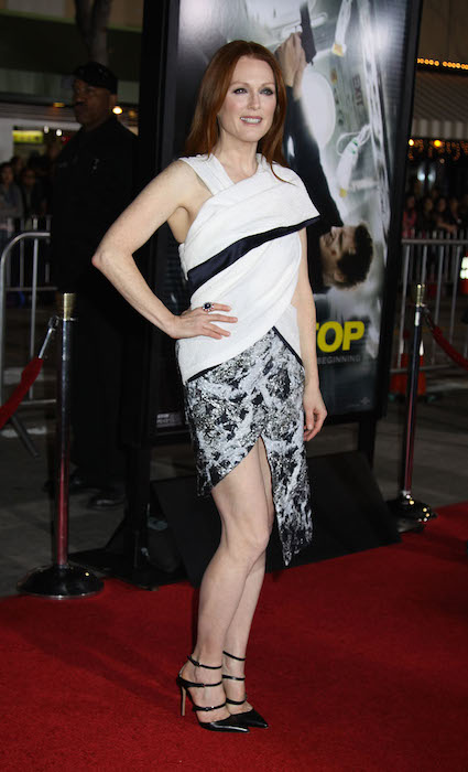 Julianne Moore at the World Premiere of Non Stop.