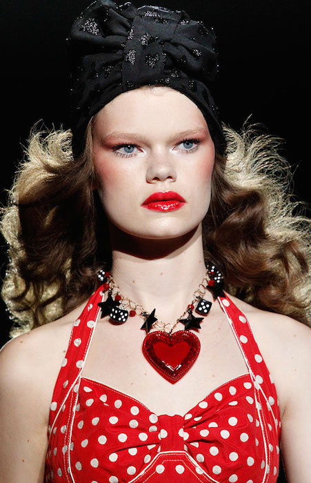 Kelly Mittendorf during Anna Sui Spring 2012 Ready to Wear Fashion Show.