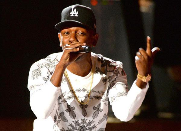 Kendrick Lamar at BET 2013 Hip-Hop Awards.