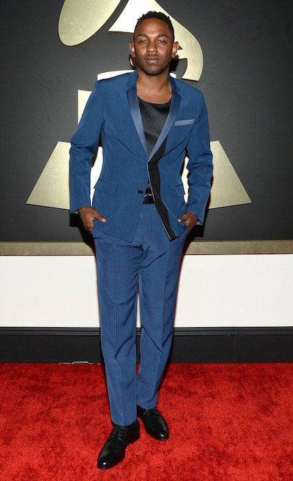 Kendrick Lamar attends the 56th Grammy Awards at Staples Center on January 26, 2014.