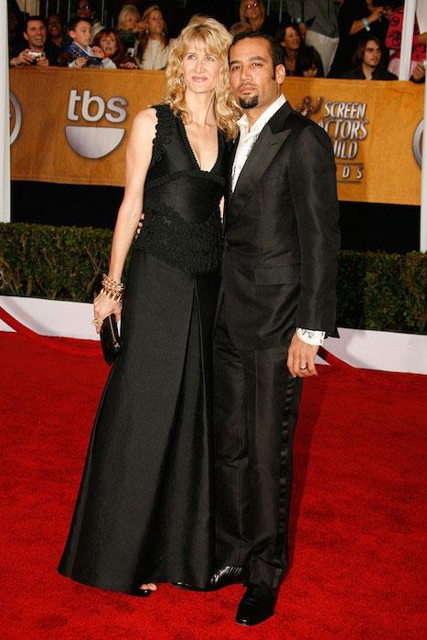 Laura Dern and Ben Harper at SAG Awards.
