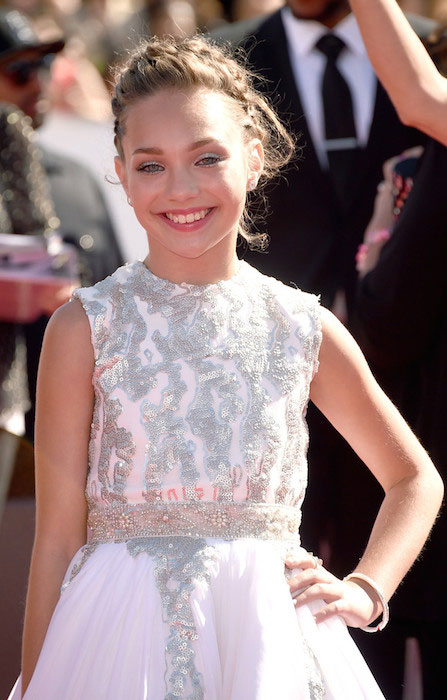 Maddie Ziegler at the MTV Video Music Awards 2014.