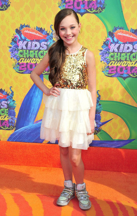 Maddie Ziegler attends Nickelodeon's 2014 Annual Kids' Choice Awards held at USC Galen Center.