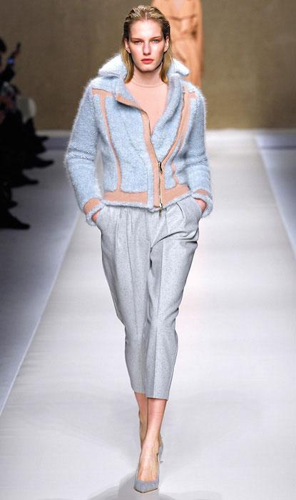 Marique Schimmel at Blumarine Fall Ready To Wear 2013 Fashion Show.