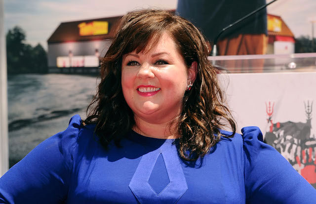 Melissa McCarthy is immortalized with a hand and footprint ceremony at TCL Chinese Theatre on July 2, 2014 in Hollywood, California.
