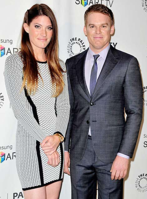 Michael C Hall and Jennifer Carpenter.