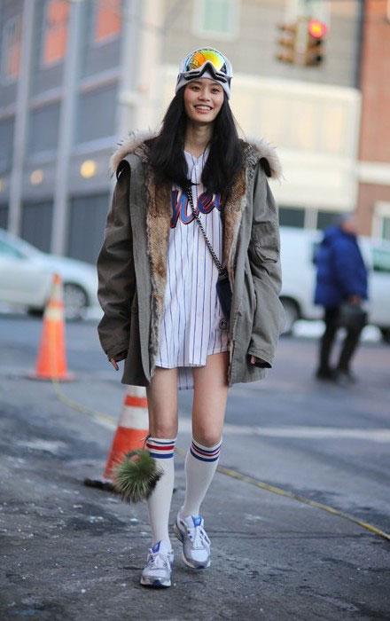 Ming Xi's Street Style NYFW 2014.