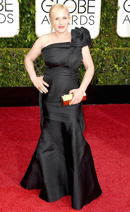 Patricia Arquette at 2015 Golden Globe Awards.