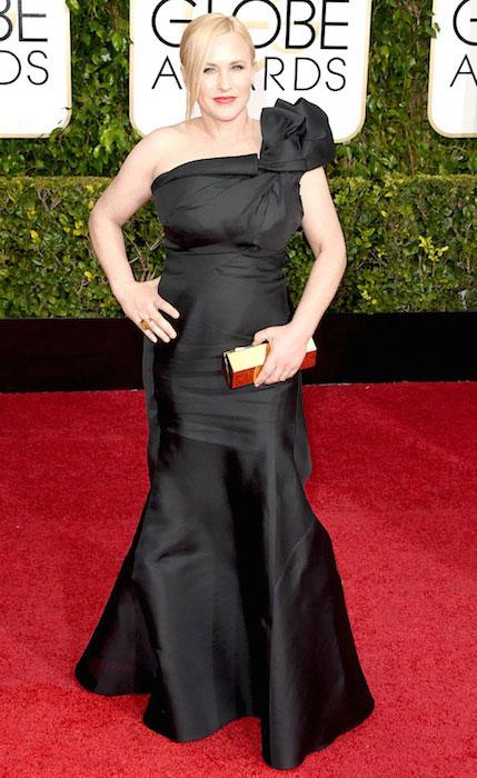 Patricia Arquette at 2015 Golden Globe Awards.