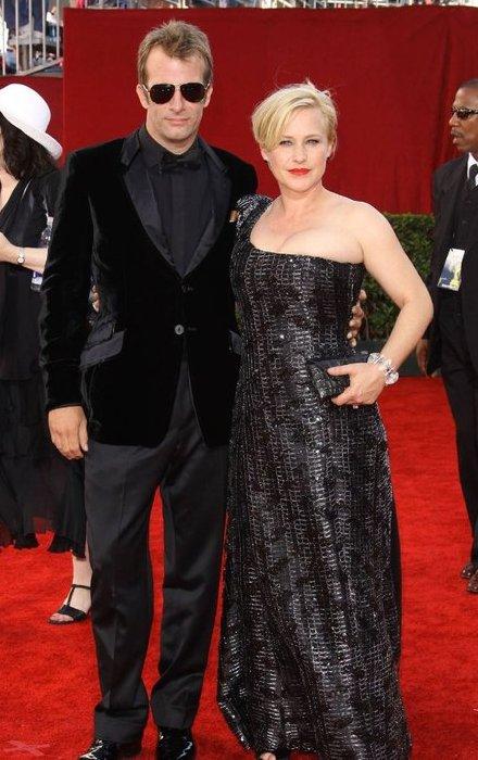 Patricia Arquette and Thomas Jane.