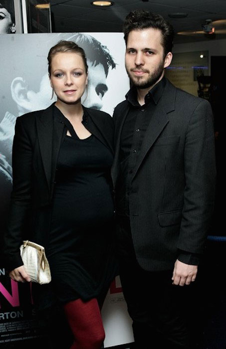 Samantha Morton and Harry Holm during 'Control' Gala Screening.