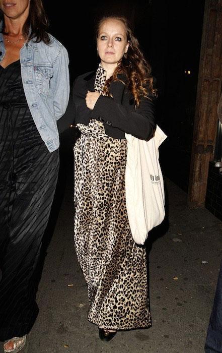 Samantha Morton at Nick Grimshaw's 30th birthday at Shoreditch House.