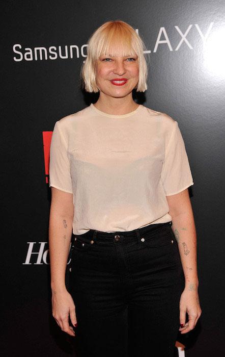 Sia Furler at Django Unchained New York Premiere.