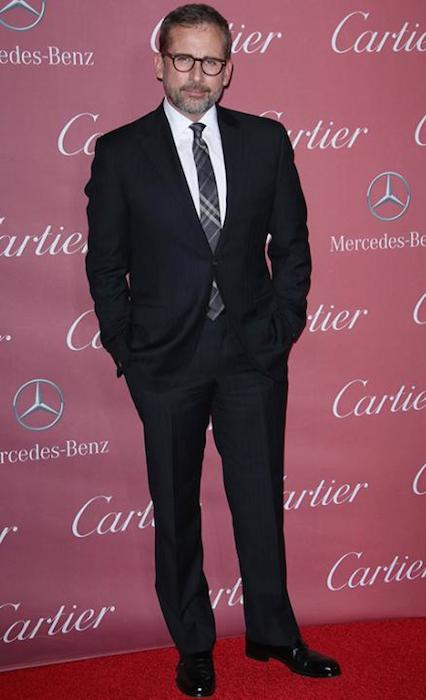 Steve Carell at Palm Springs Film Festival Gala 2015.