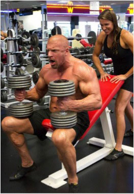 Triple H hammer workout