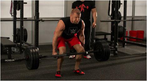 Triple H weightlifting