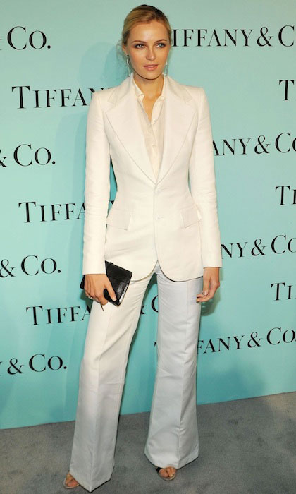 Valentina Zelyaeva at 2014 Tiffany's Blue Book Gala