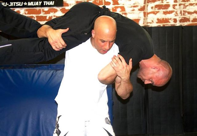 Vin Diesel practicing Muay Thai for Furious 7.