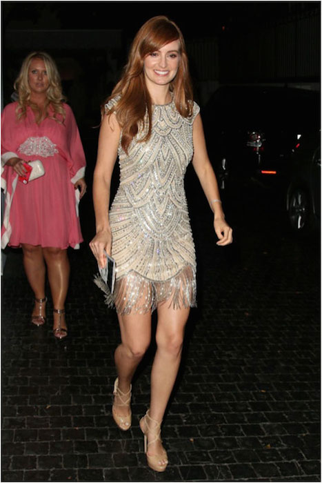 Ahna O'Reilly leaving Chateau Marmont in Hollywood.