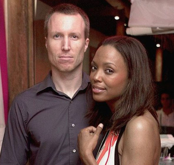 Aisha Tyler and Jeff Tietjens.