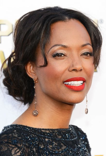 Aisha Tyler at 2014 Critics Choice Movie Awards in Santa Monica.