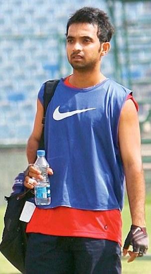 Ajinkya Rahane exercise