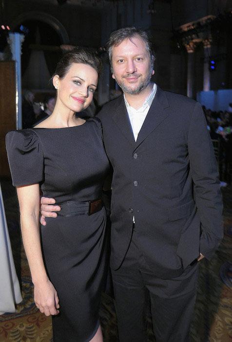 Carla Gugino and Sebastian Gutierrez.