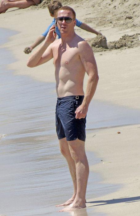 Damian Lewis shirt off