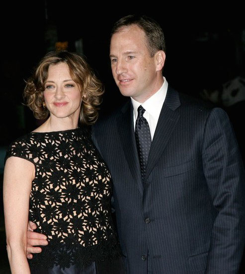 Joan Cusack and Richard Burke at Sony Pictures Classics Premiere of 'Friends with Money.'