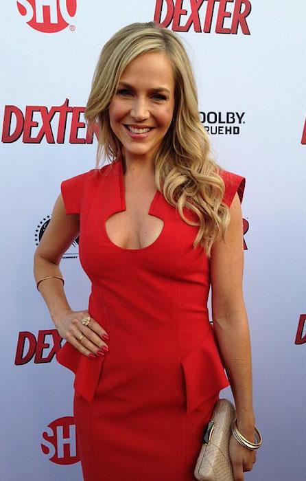 Julie Benz arrives at the Dexter Season 8 Premiere Party.