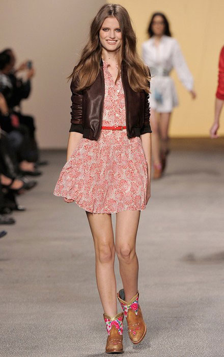 Katie Fogarty during Paul Joe Ready To Wear Spring / Summer 2011 Fashion Show.