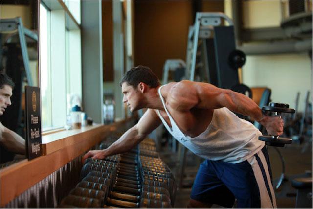 Kickback for Triceps